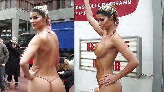 Micaela Schaefer in knappem Bikini